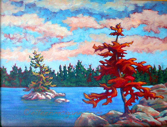 Red Tree Lake study